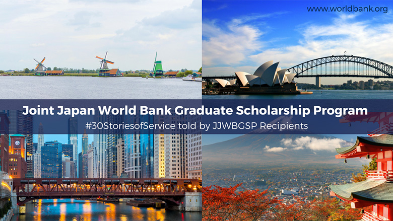 Joint Japan / Wereldbank Graduate Scholarship Program 2018
