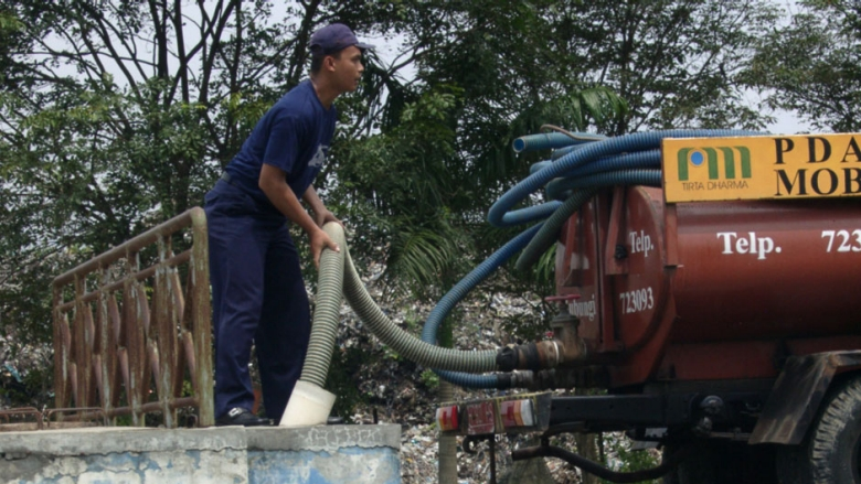 Improving Indonesia's fecal sludge management