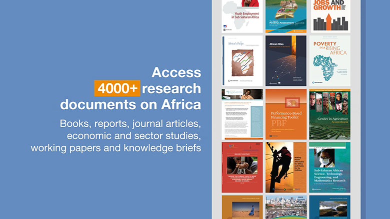 The World Bank Open Knowledge Repository: Your Source for Publications and Research