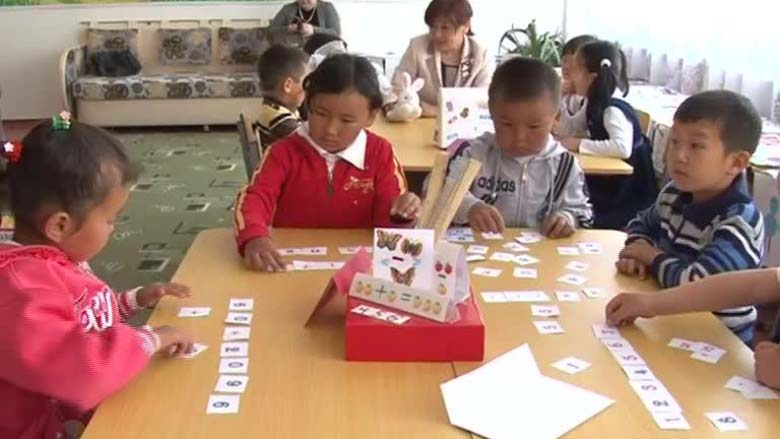 Working to Open Preschool to All in the Kyrgyz Republic