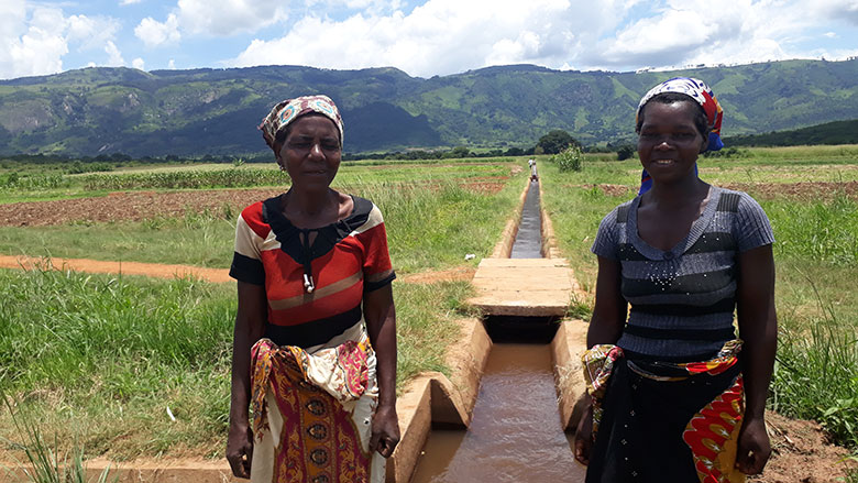 In Rural Mozambique Bank Funded Irrigation Systems Bring