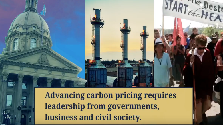 Courage of Leadership, Alberta's Carbon Pricing Story