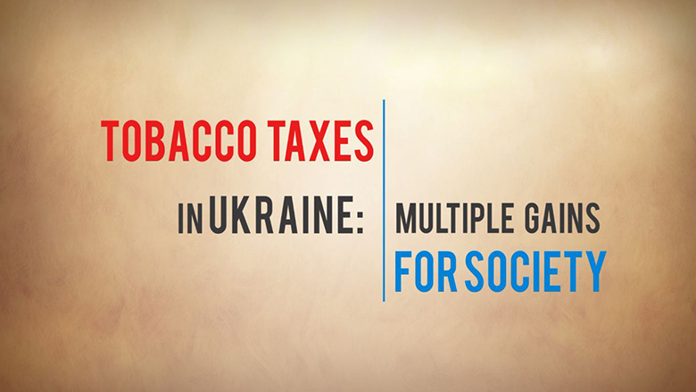 Video: Tobacco Tax in Ukraine