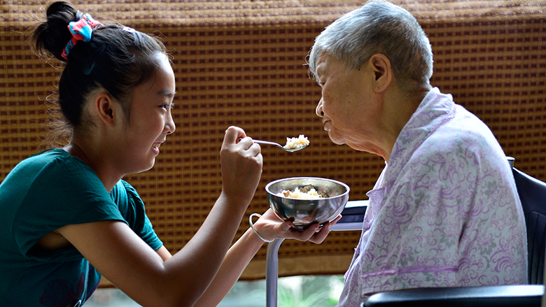 World Bank Report Offers Options for Elderly Care in China