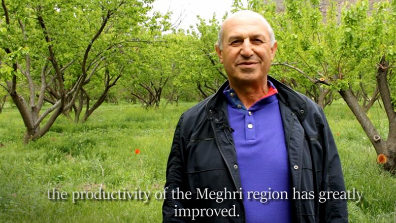"Armenian Farmer Confirms: Water is the ""Staff of Life"""