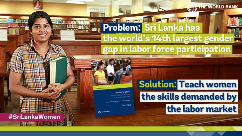 Getting More Sri Lankan Women to Work: It Can Be Done