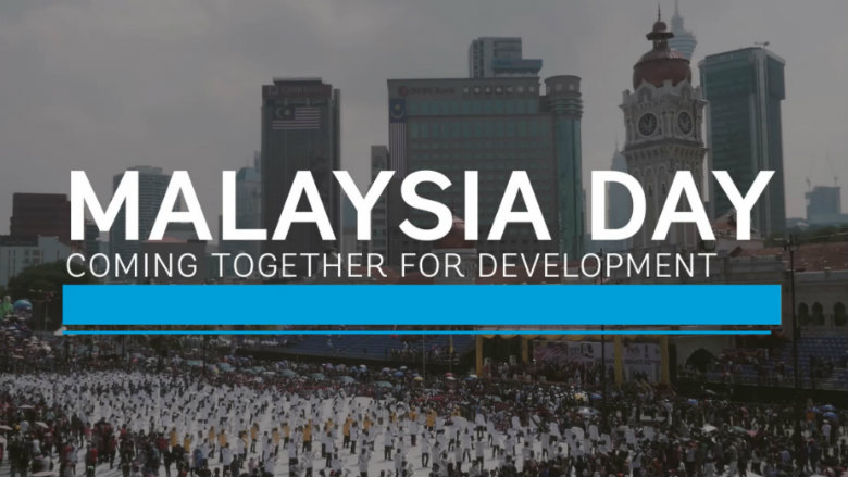 Malaysia day coming together for development