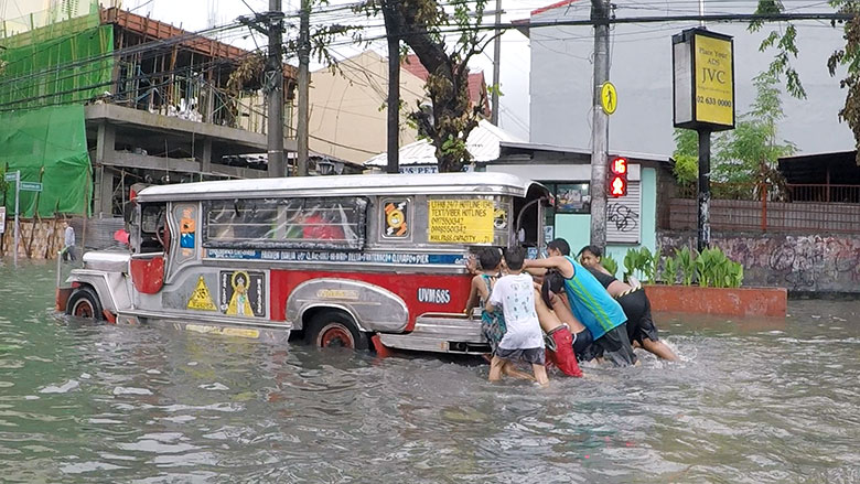 research paper about flood in the philippines