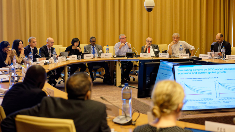 World Bank Discusses Global Trends in Extreme Poverty and Inequality at G-24 Special Workshop