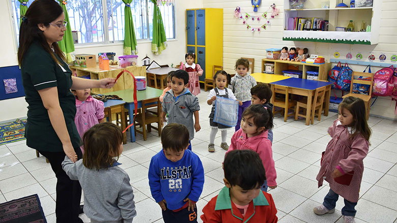 Public School in Chile. Photo: Ministry of Education / World Bank.