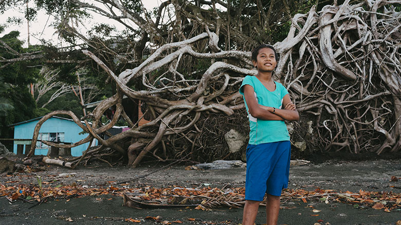 Climate change in Fiji: Catalina's story