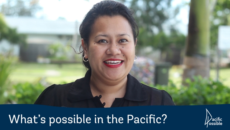 "Pacific Possible: ""That's all I want"""