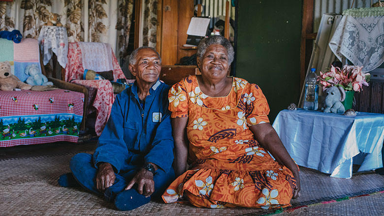 Climate change in Fiji: Rupeni's story