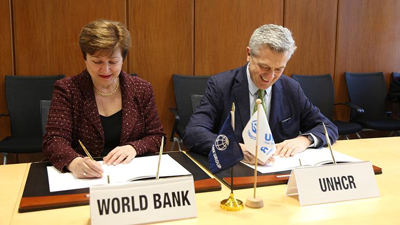 World Bank Group, UNHCR sign memorandum to establish joint data