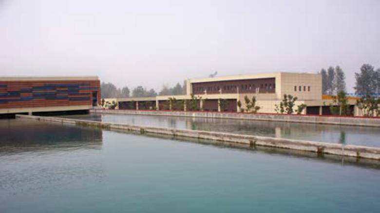 Longtan water treatment plant in operation in Nanjing, Jiangsu Province, China. Photo: World Bank