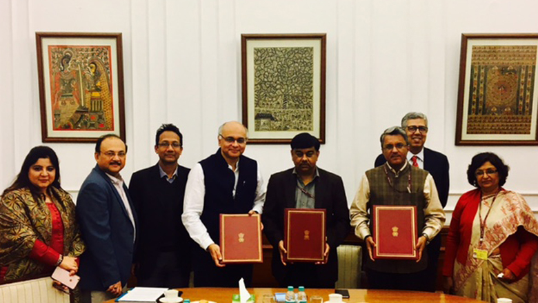 Project Signing: Government of India and World Bank sign $375