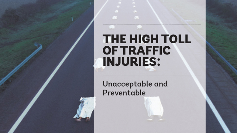 road traffic related injuries Road traffic accidents and road safety the information should not be used for either diagnosis or treatment or both for any health related problem or disease.