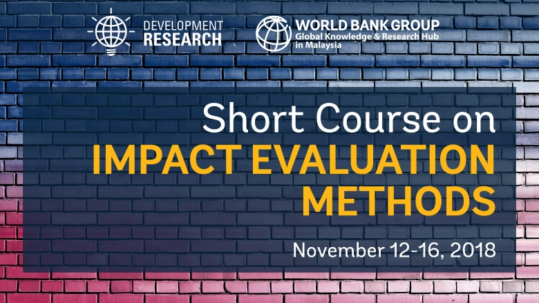 Short Course: Impact Evaluation Methods