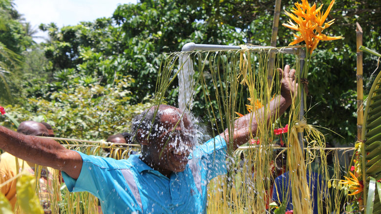 Solomon Island Communities Build Potable Water Systems To