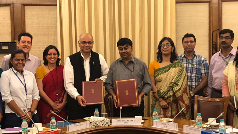 Project Signing : Government of India and World Bank Sign Agreement