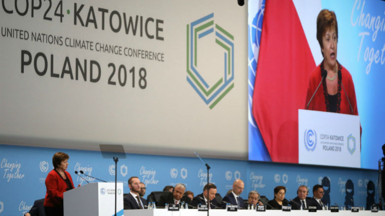 Kristalina Georgieva, Chief Executive Officer of the World Bank, at COP24. © Kaia Rose/Connect4Climate