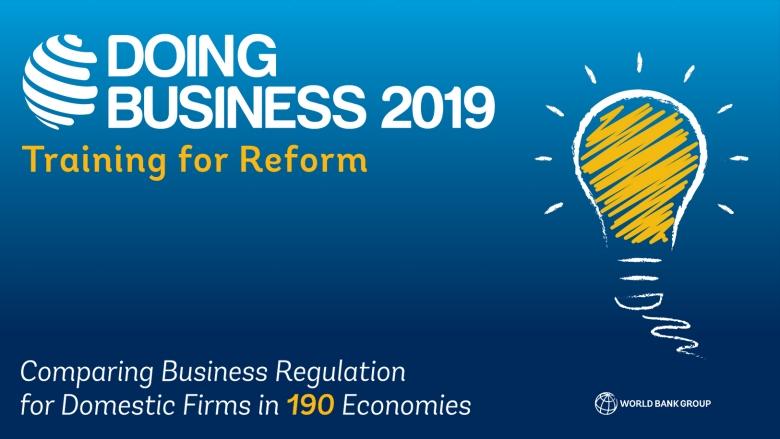 ビジネス環境の現状 ビジネス環境改善に向けた改革が世界全体で過去