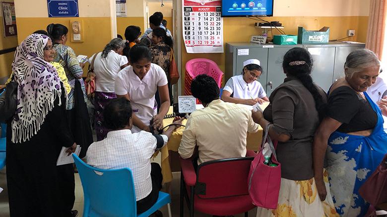 Sri Lanka Health Care Public And Private Sector