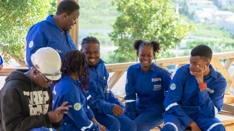 A wave of new home-grown professionals join Sint Maarten's recovery