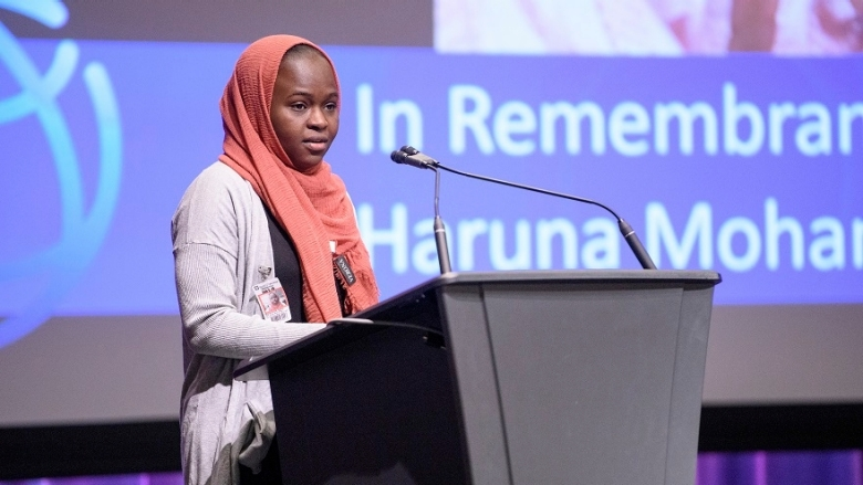 In Remembrance of Executive Director Haruna Mohammed