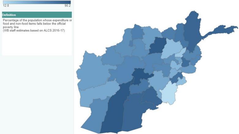 Afghanistan: Province Dashboard