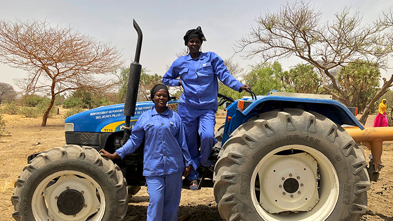Female Tractor Drivers and Electricians in Chad Disrupt the Status Quo