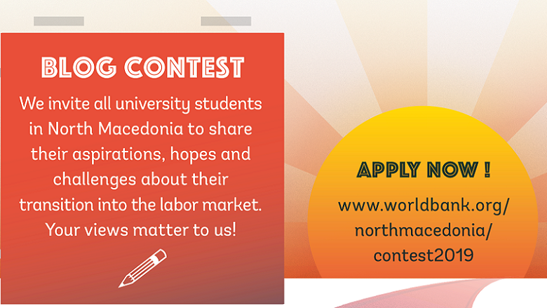 Blog Contest: University Students in North Macedonia Speak Up!