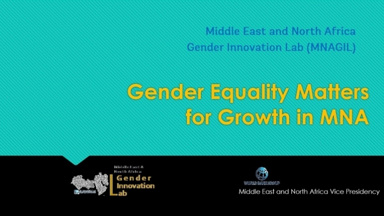 Middle East and North Africa Gender Innovation Lab