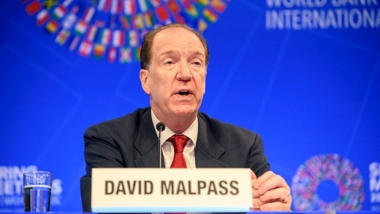World Bank Group President David Malpass. Photo: World Bank / Clarissa Villando