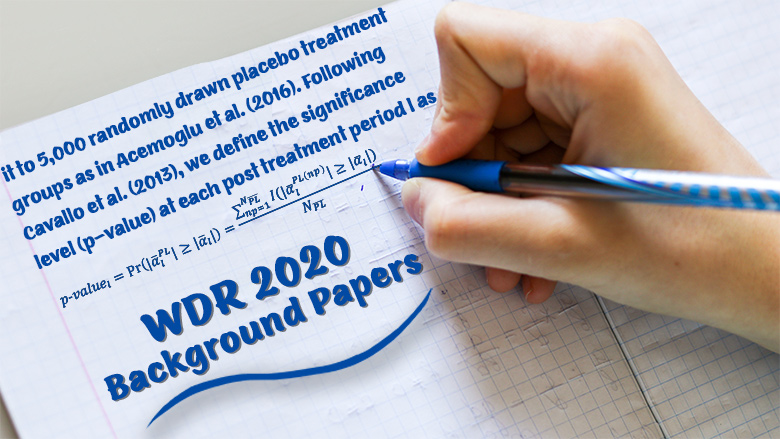 WDR 2020 background working papers image