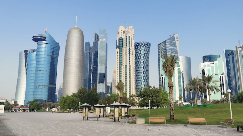 In Qatar, the Doha skyline hosts unique buildings situated in the West Bay.