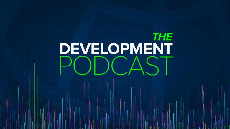 Title card for The Development Podcast series