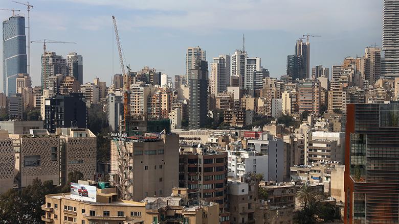 City view of Beirut, Lebanon.