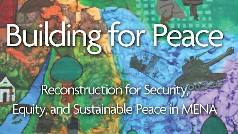 Report cover for Building for Peace MENA report