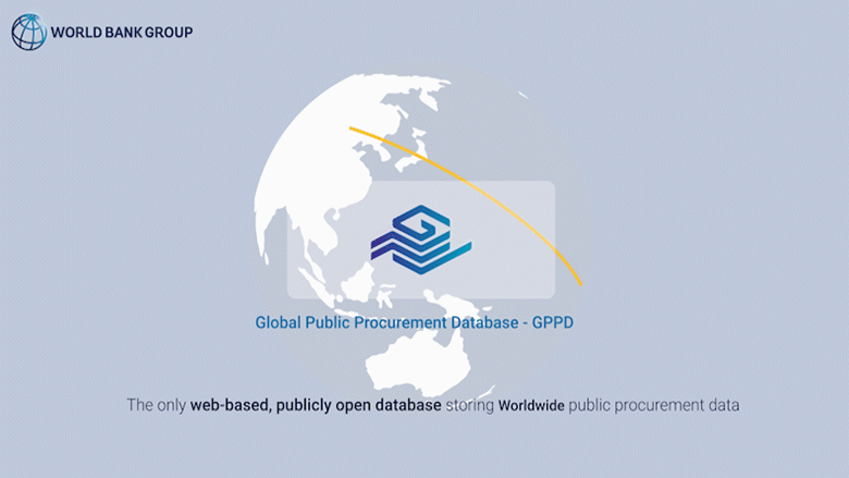Global Public Procurement Database - Graphic with logo