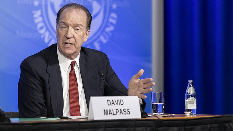 The World Bank allocates $ 150 billion to developing countries to help them tackle Corona WBG-President-David-Malpass