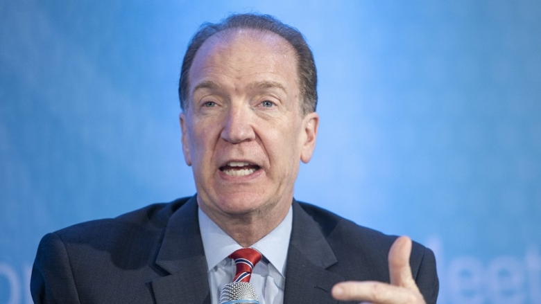World Bank Group President David Malpass. Photo: © World Bank