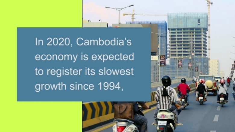 COVID-19 Epidemic Poses Greatest Threat to Cambodia's Development in 30 Years: World Bank
