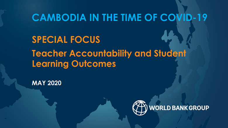 Cambodia in the Time of COVID-19: Economic Update, May 2020