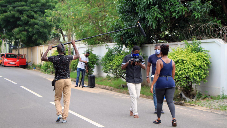 Image  Corona Life: Ghana changing behavior through a drama series 20201013 Ghana 02 780x439