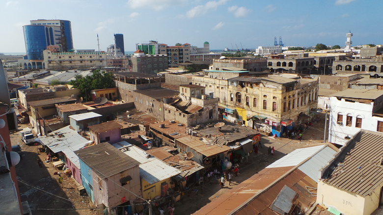 Djibouti City- Rooftop view