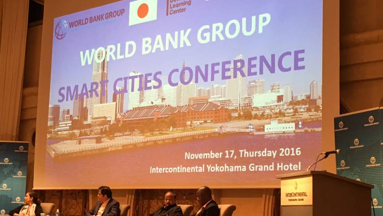 Presentation at the World Bank Smart Cities Conference