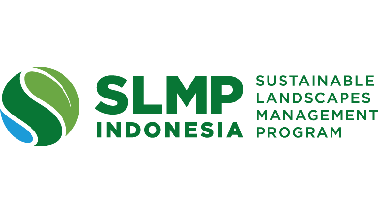 Sustainable Landscape Management Program  Logo green round shape and letters