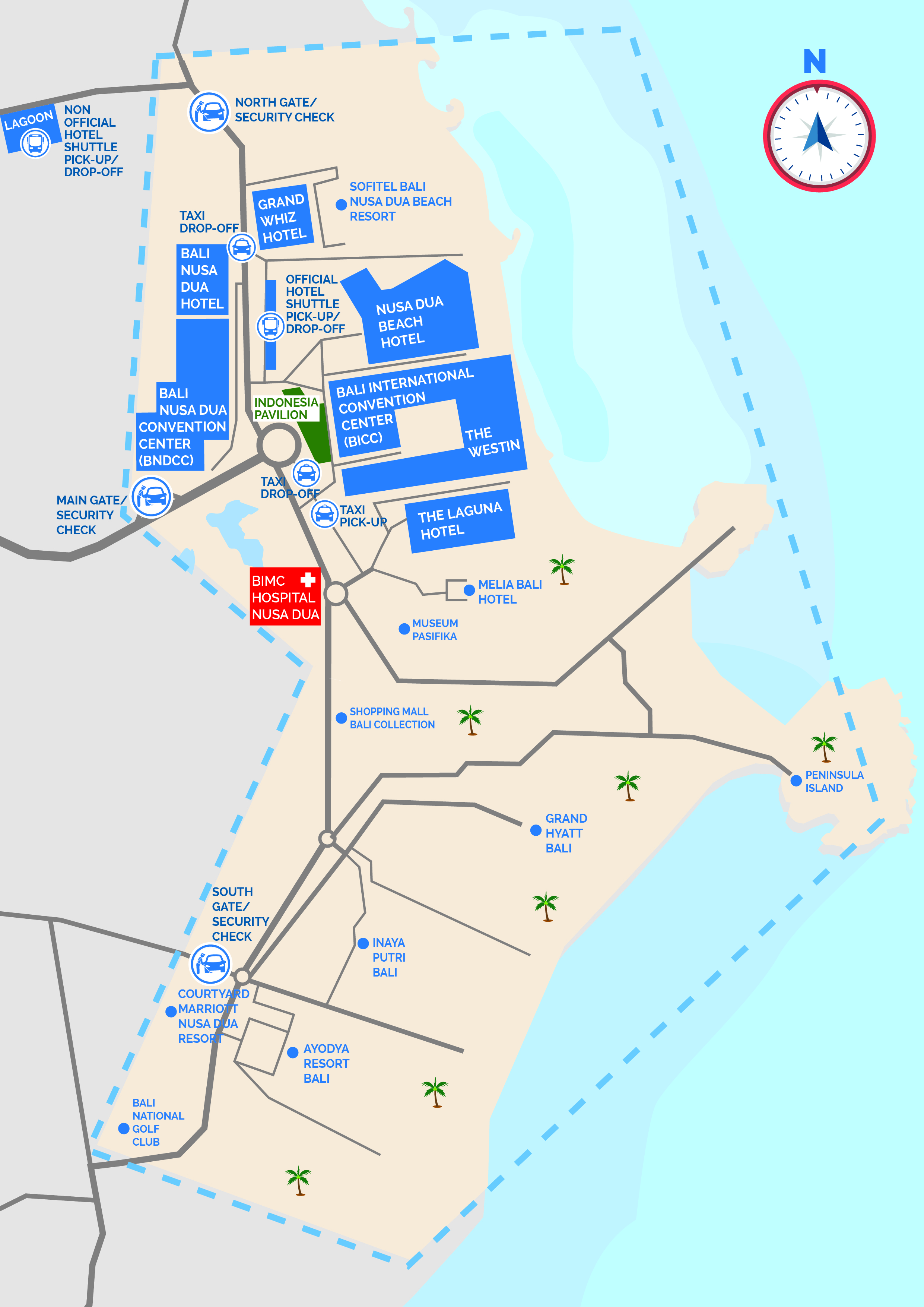 Campus Plan Itdc Area Map