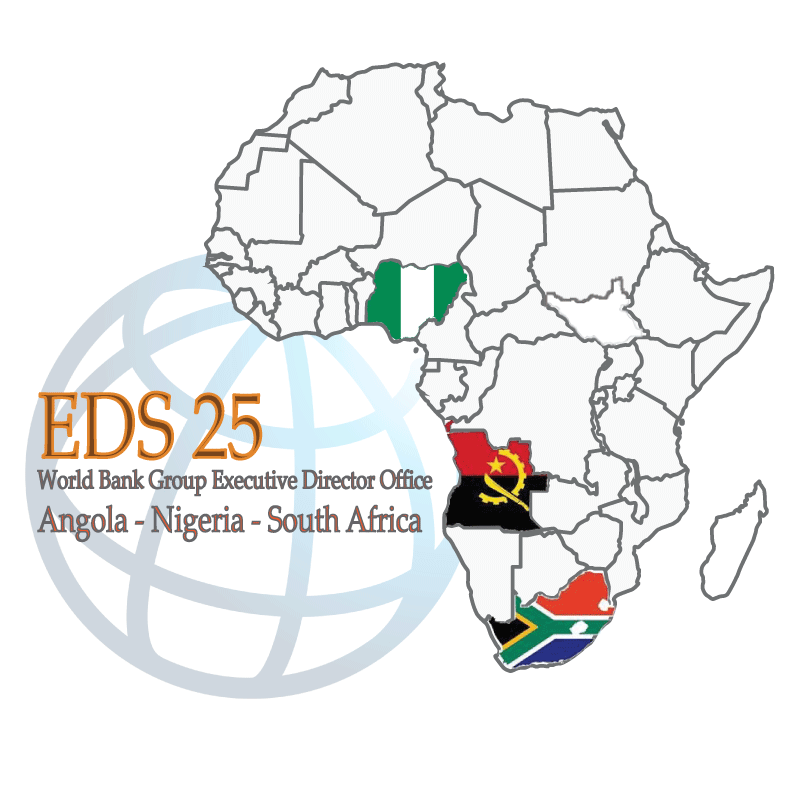 EDS25 Constituency Countries Map